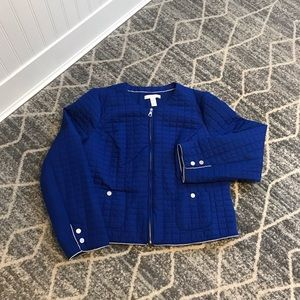 Chico's quilted jacket size 2